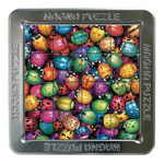 10427 - 16 Piece Magnetic Lenticular Puzzle Beetles