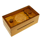 13322 - Wooden Puzzle Box Brain Teaser - Long Life Bank Level 6