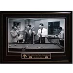 7417 - Rat Pack Unsigned Deluxe Frame Playing Pool