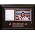 7409 - Wayne Gretzky Unsigned Framed Rangers Final Goal