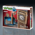 7544 - Big Ben and Parliment 3D Puzzle