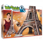 Eiffel Tower 3D Puzzle - 816 Pc