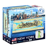 11885 - 4D Mini Cityscape Puzzle, New York