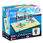 4D Mini Cityscape Puzzle, London