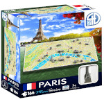 4D Mini Cityscape Puzzle, Paris