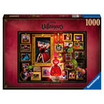 13845 - Ravensburger Disney Villainous Queen of Hearts 1000 Piece Puzzle