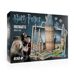 Wrebbit Harry Potter Hogwarts Great Hall - 850 Pc 3D puzzle