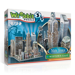 9759 - New York Midtown East 3D Puzzle - 875 pieces