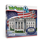 10633 - Wrebbit The White House - 490 Pc 3D Puzzle