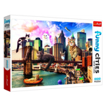 15091 - Trefl Cats in New York 1000 PC Puzzle