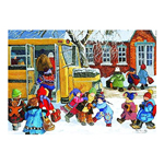 15092 - Trefl Canadian Artist Collection: Ready For School by Pauline Paquin - 1000 Pc Puzzle