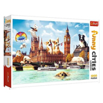 15095 - Trefl Dogs In London 1000 Pc Puzzle