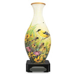 9833 - Vase Puzzle - Goldfinches 160pc