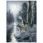 CH Wolves by Moonlight - 1000 Piece Puzzle