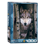 Eurographics Animal Life: Gray Wolf - 1000pc Jigsaw Puzzle