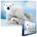 6778 - Eurographics Animal Life: Polar Bear and Baby - 1000 piece puzzle