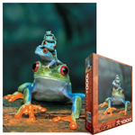 6779 - Eurographics Animal Life: Red-eyed Tree Frog - 1000 piece puzzle