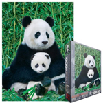 6780 - Eurographics Animal Life: Panda Bear and Baby - 1000 piece puzzle
