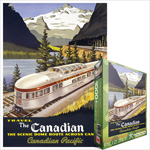 6788 - Eurographics Vintage Canadian Art: The Canadian, by Roger Cuillard - 1000 piece puzzle