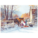 11474 - CH First Snow - 275 Piece Puzzle