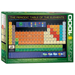 15949 - EuroGraphics Periodic Table of Elements 1000-Piece Puzzle (6000-1001)