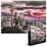 10247 - Eurographics City Collection: Seattle City Skyline - 1000pc Puzzle