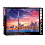 14105 - Eurographics City Collection: Toronto Skyline - 1000 PC Puzzle