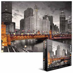 10250 - Eurographics City Collection: Chicago Michigan Ave. 1000pc Puzzle