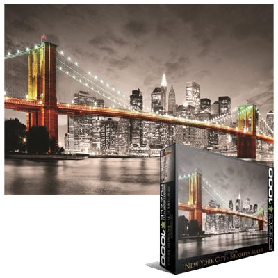 10251 - Eurographics City Collection: New York City Brooklyn Bridge