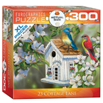 EuroGraphics 23 Cottage Lane 300 XL Pc Puzzle (8300-0601)