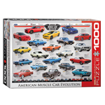 EuroGraphics Automotive Evolution: American Muscle Car 1000-Piece Puzzle