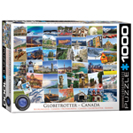 10422 - Eurographics HDR Collection: Globetrotter Canada - 1000 Piece Puzzle