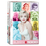 11775 - Eurographics Marilyn Monroe Color Portrait - 1000 Piece Puzzle