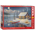 Eurographics Artists Series: A Cozy Christmas, by Timm - 1000 pc Puzzle