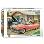 15442 - EuroGraphics Classic Car Collection: The Pink Caddy by Nestor Taylor 1000-Piece Puzzle
