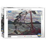 15443 - EuroGraphics Fine Art Masterpiece:The West Wind by Tom Thomson 1000-Piece Puzzle