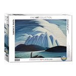15108 - Eurographics Fine Art Series: Lake and Mountains by Lawren S. Harris 1000 Piece Puzzle