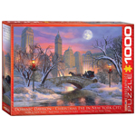 Eurographics Christmas Eve in NY City 1000 Pc Puzzle (6000-0915)