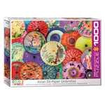 EuroGraphics Colours of the World: Asian Oil Paper Umbrellas. 1000-Piece Puzzle