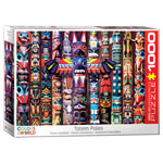 12867 - Eurographics Colors of the World: Totem Poles 1000 Piece Puzzle