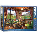 Eurographics Artists Series: Cozy Cabin, by Davison - 1000 Piece Puzzle