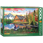 Eurographics Artists Series: The Fishing Cabin, by Davison - 1000 Piece Puzzle