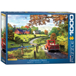 Eurographics Artists Series: The Country Drive, by Davison - 1000 Piece Puzzle