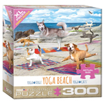 16021 - Eurographics Yoga Beach 300 XL Pc Puzzle (5300-5456)
