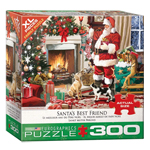 16023 - Eurographics Santa's Best Friend 300 XL Pc Puzzle (8300-5399)