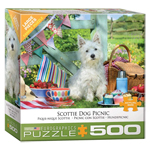 Eurographics Scottie Dog Picnic Large Pc Puzzle (8500-5461)
