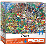 16027 - Eurographics What Could Go Wrong? 500 Large Pc Puzzle (8500-5460)