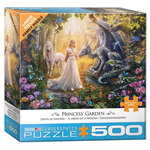 16028 - Eurographics Princess Garden 500 Large Pc Puzzle (8500-5458)
