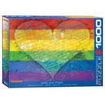 16009 - Eurographics Love And Pride 1000 Pc Puzzle (112102)