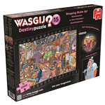 10285 - Wasgij Destiny Puzzle 15: Shopping Shake Up - 1000 Piece Puzzle